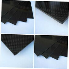 200 x 300 x 1.5mm With 100% Carbon Fiber plate panel sheet 3K plain weave BY