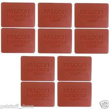 10 X FALCON CARBOLIC TRADITIONAL SOAP 125 GRAM SOAPS BARS OLD FASHIONED Free P&P