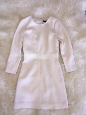 JCrew $228 Double Faced Wool Crepe Dress 2P c1063 vintage champagne c1063