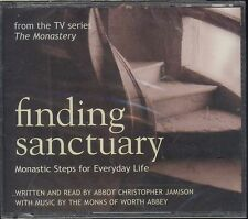 FINDING SANCTUARY audiobook CD NEW monastic steps