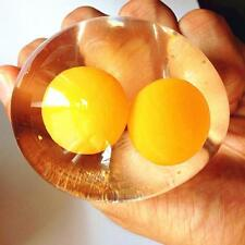 Splat Double Yolk Egg Vent stress reliever stress relief toy Smash Water Ball