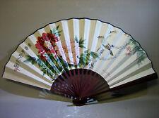 Vintage handmade folding fan