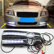 1 Set Daytime Day White Fog Light DRL Lamp For Volvo S80 2007-2013