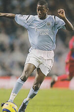 Football Photo BRADLEY WRIGHT-PHILLIPS Manchester City 2004-05