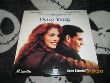 Dying Young Laserdisc LD Julia Roberts Free Ship $30 Orders
