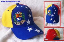 Venezuela Gorra Tricolor Flag Cap / Hat Unisex, 8 Stars, Wholesale And Retail!!!