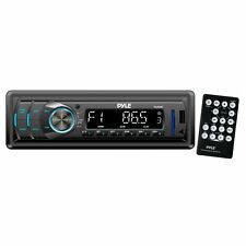 Pyle Audio Car Stereo Radio AUX USB SD New MP3 Player Remote Reciever Cheap New