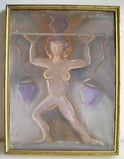 Vecchio quadro olio su tela 1923? Avanguardia russa Russian avantgarde