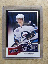 11-12 UD RC Victory Rookie Black Parallel MARK SCHEIFELE #310