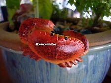 Miniature Pot Hanger Crab  LS PH79 Dollhouse  Fairy Gnome Garden