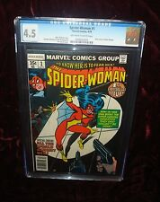 Spider-Woman 1st Issue CGC 4.5 New Origin Of Spider-Woman