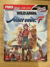 Prima Wild Arms Alter Code: F Playstation 2 PS2 Official Strategy Guide