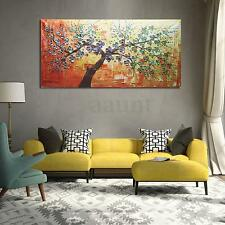 Modern Abstract Hand Paint Oil Painting Wall Decor adorn Tree on canvas NO frame