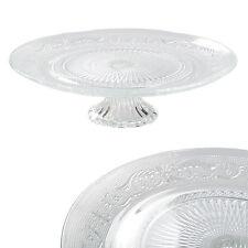 Ø 32,5 cm Tortenplatte Glas Kuchenplatte Tortenständer Kuchenständer HA-001TP