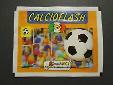 BUSTINA FIGURINE EUROFLASH CALCIO FLASH 94  PIENA SIGILLATA (NO PANINI) NEW- FIO