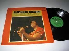 SHOSHANA DAMARI Chants Of Israel MACE Stereo NM/NM-