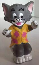 "Vintage 1989 Tom Thomas Cat 3.25"" Turner PVC Action Figure Tom & Jerry"