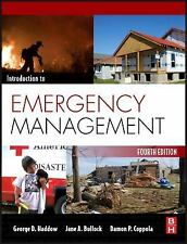Introduction to Emergency Management by George D. Haddow, Damon P. Coppola and …
