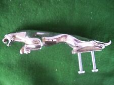 VINTAGE JAGUAR LEAPER CAR BADGE ORIGINAL HOOD ORNAMENT