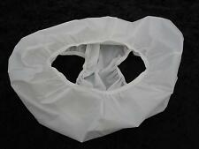 WATERPROOF KNICKERS UK SIZE 20 - 22 XL WHITE SOFT RUBBER FEEL LIGHTWEIGHT UNISEX