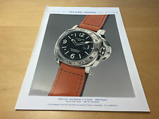 Press Kit OFFICINE PANERAI - Panerai Luminor GMT 44mm - PAM00029 - Spanish