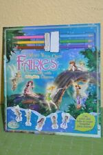 Disney Tinkerbelle Make Your Own Fairies Storybook with ShrinkyDinks Charms New!