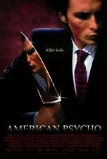 "AMERICAN PSYCHO Movie Poster [Licensed-New-USA] 27x40"" Theater Size [Bale]"