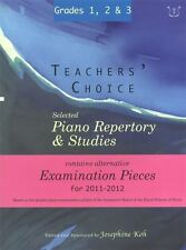 Profesores' Choice: Selected Piano Repertorio & estudios 2011-2012 (grados 1, 2 y 3)