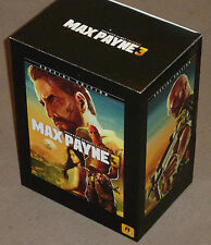 XBOX 360 MAX PAYNE 3 III HUGE SPECIAL COLLECTORS EDITION BOXSET NEW GAME FIGURE+