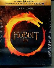 LE HOBBIT LA TRILOGIE  COFFRET    BLU RAY 3D + BLU RAY + DVD + COPIE DIGITALE
