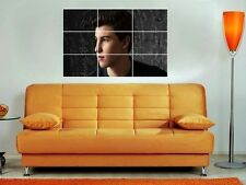 "SHAWN MENDES 35""X25"" INCH MOSAIC / TILE STYLE WALL POSTER POP"