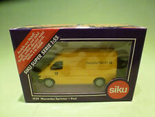 SIKU 1929 MERCEDES BENZ SPRINTER - POST - 1:55 - RARE SELTEN - GOOD IN BOX