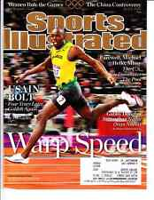 August 13, 2012 Usain Bolt Jamaica Olympic Track and Field Sports Illustrated 1