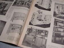Journal de l'ameublement Meubles et décors N° 631-632 Mars-Avril 1951