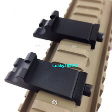 45 Degree Angle Offset Side Rail Scope Mount Fit RTS Sight Rail Picatinny Weaver