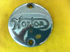 Norton Dominator Gearbox Inspection Cover With inscribed Norton logo
