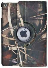 360 Rotating Camo Canvas Case Smart Stand Cover For IPad 2/3/4 air mini1/2/3