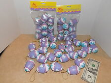 44 VINTAGE GIBSON GREETINGS 1995 EASTER EGG ORNAMENT'S
