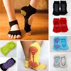 1Pair Half Toe Ankle Grip Yoga Dance Pilates Socks Five Finger 5 Toe Non Slip