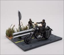 McFarlane Toys The Walking Dead Building Set Daryl Dixon w/ Motorcycle & Walker