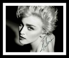 MADONNA AUTOGRAPHED SIGNED & FRAMED PP POSTER PHOTO 3