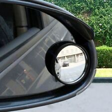2pcs Wide Angle Convex Car Auto Blind Spot Stick-On Rearview Mirror Side View
