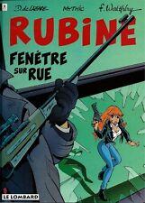 EO RUBINE WALTHÉRY + DE LAZARE + MYTHIC + DESSIN ORIGINAL : FENÊTRE SUR RUE