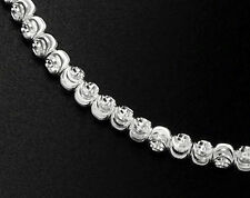 925 Sterling Silver 50 Diamond Cut Spacer Beads  3mm