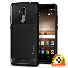 Spigen® For Huawei Mate 9 Case [Rugged Armor] Black Slim Shockproof TPU Cover