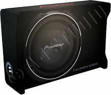"PIONEER TS-SWX3002 CAR AUDIO 12""SHALLOW MOUNT PRE-LOADED SUBWOOFER ENCLOSURE BOX"