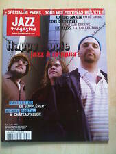 JAZZ MAGAZINE HAPPY APPLE ARCHIE SHEPP BEAVER HARRIS JULIEN CLERC ROY HARGROVE