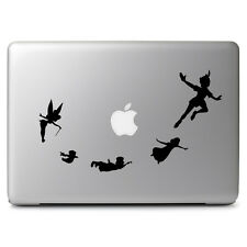 Peter Pan Flying Tinkerbell for Macbook Air/Pro Laptop Car Vinyl Decal Sticker