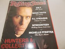 HUNTERS & COLLECTORS -OZ ROLLING STONE MAGAZINE #475-1992-ICE-T-SONIC YOUTH