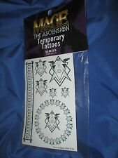 MAGE THE ASCENSION Temporary Tattoos by White Wolf (Son of Ether/Hermes/Adepts)
